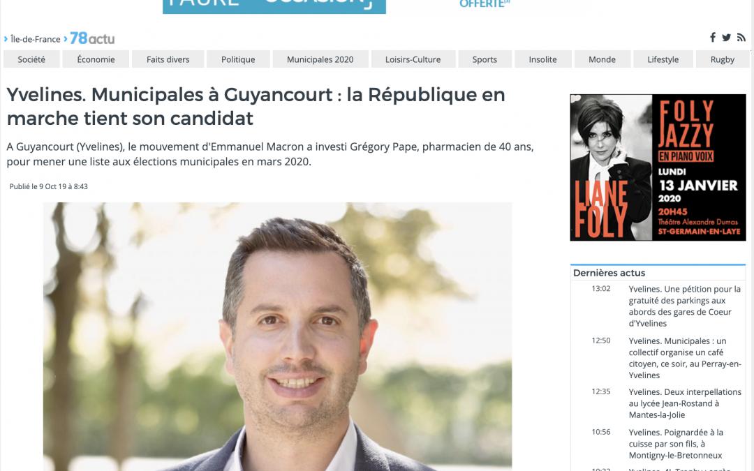 Yvelines. Municipales à Guyancourt : la République en marche tient son candidat – L'actu
